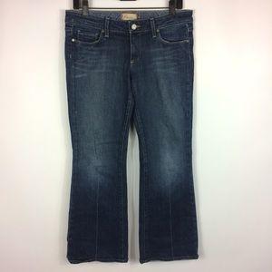 Paige Laurel Canyon Low Rise Boot Cut Jean Size 30